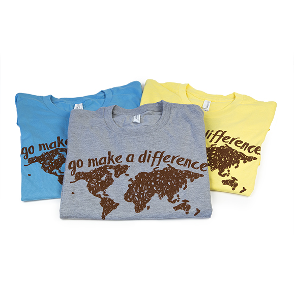 go-make-a-difference-world-tshirt