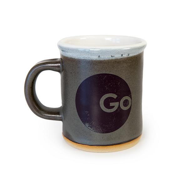 Go Make A Difference Mug Grey